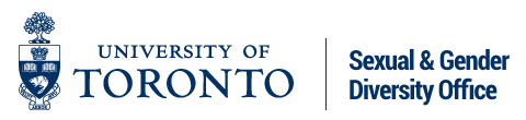 U of T SGDO (Sexual and Gender Diversity Office)